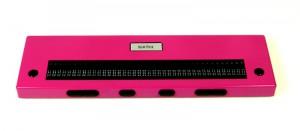 pinke Braillezeile von B&M